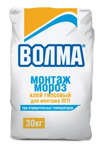 Клей плиточный ВОЛМА-Монтаж, 25кг. (морозостойкий)