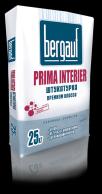 Штукатурка белая Prima Interier, 25кг. Bergauf