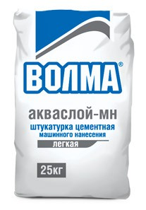 Штукатурка цементная универ. АКВА-СЛОЙ, 25кг.