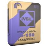 Смесь М-150 (Кладочная) Ивсил, 50 кг
