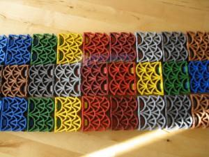 Цвет напольного покрытия