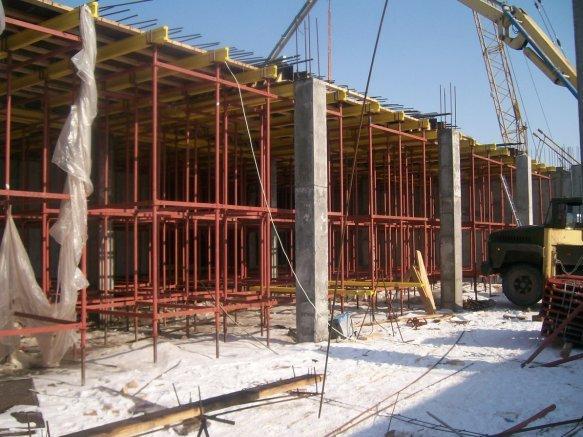 На сегодняшний день технология монолитного строительства активно применяется при возведении