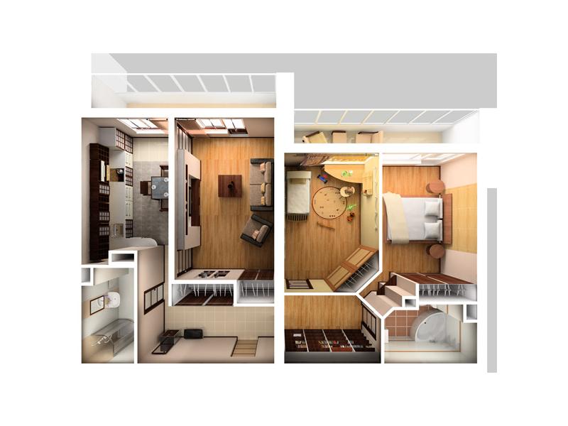 фото квартир с ремонтом дизайны квартир перепланировка #10