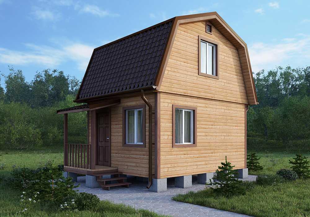 Брусовое строительство домов, дач, бань