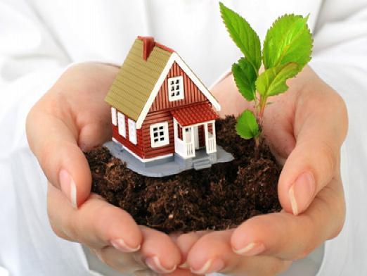 предложил Собственность на дом и на землю задумчивом